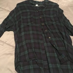 BDG urban outfitters blouse flannel